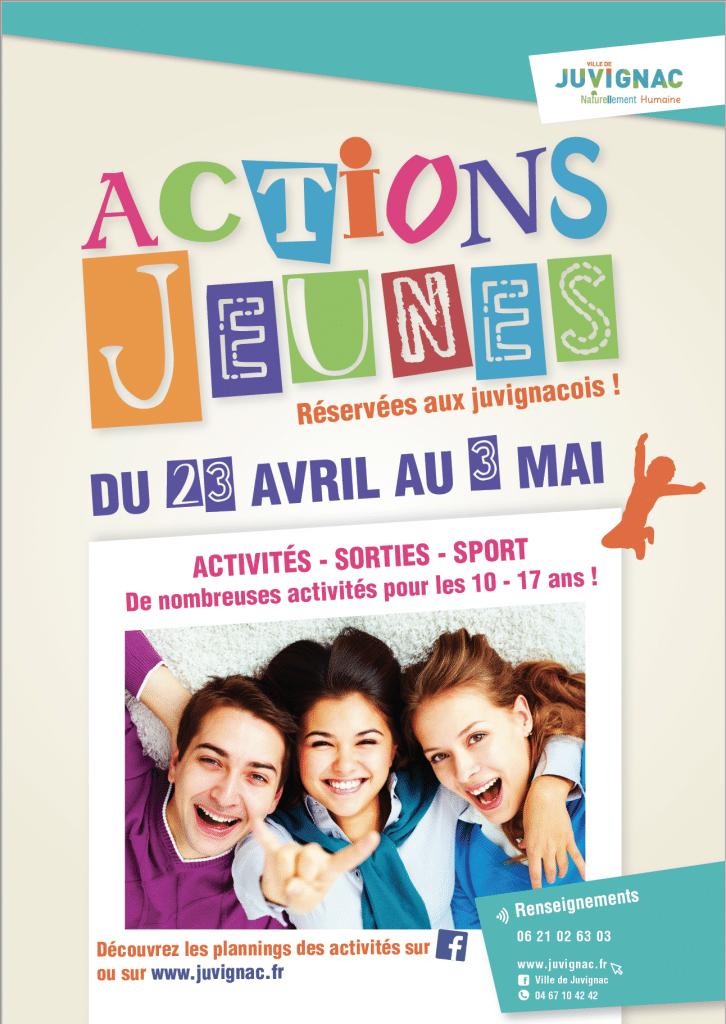 Action jeunes affiche