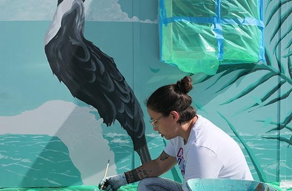 FAUST_preparation fresque_Rencontres 34_2206